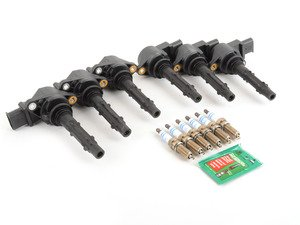 ES#2763455 - 2729060060KT - Ignition Service Kit - Includes six OE coil packs and six OE spark plugs - Genuine Mercedes Benz - Mercedes Benz