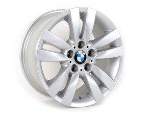 "ES#2535497 - 36116775599KT - 17"" Double Spoke Style 161 Wheels - Square Set Of Four - 17x8 ET34 72.6mm CB - Genuine BMW - BMW"