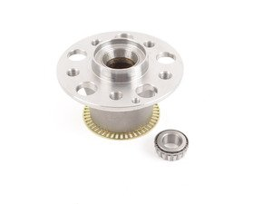 ES#2814839 - 2203300725 - Front Wheel Hub Assembly - Priced Each - Fits left or right side, includes bearings - Hamburg Tech - Mercedes Benz