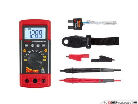 ES#2948902 - PWPDMM101ES - CAT-IV Rugged Mulitmeter - This multi-meter is the most versatile, accurate, and rugged Digital Multimeter to make your testing on and off the vehicle faster and more efficient - Power Probe - Audi BMW Volkswagen Mercedes Benz MINI Porsche