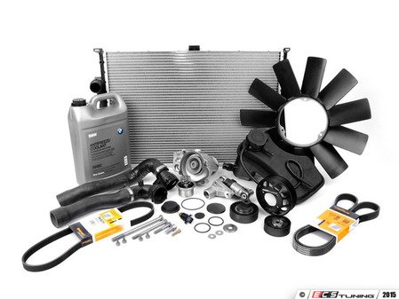 ES#2707744 - 17127510952KT7 - Cooling System Refresh Kit - Level 3 - The ultimate kit to eliminate your cooling system issues and get you back on the road worry free - featuring high quality aftermarket contents - Assembled By ECS - BMW