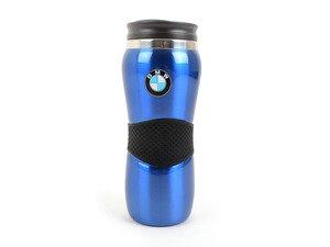 ES#1833385 - 80900439611 - BMW Travel Mug - Blue - Enjoy a hot beverage in your BMW - Genuine BMW - BMW