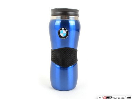 ES#1833385 - 80900439611 - BMW Travel Mug - Blue - Enjoy a hot beverage in your BMW - Genuine BMW - BMW