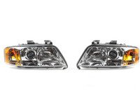 ES#2713361 - 4B0941003ATKT - Xenon Headlight Set - Includes both headlight assemblies with ballasts  bulbs - Hella - Audi