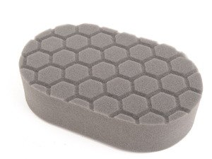 "ES#2619088 - BUFX203 -  Black Hex Logic Finishing hand Pad - The best pad to use with glazes or creme waxes for a brilliant finish. 3""x6""x1"" - Chemical Guys - Audi BMW Volkswagen Mercedes Benz MINI Porsche"