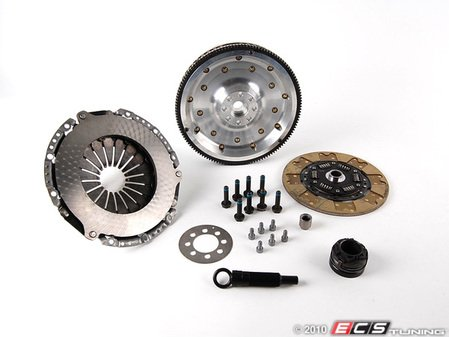 ES#1329 - B5S4S3CKFW - Stage 3 Clutch Kit - With Lightweight Aluminum Flywheel (12lbs) - Includes hardware and all related components. - Assembled By ECS - Audi