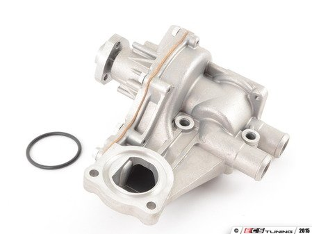 ES#2893742 - 037121010A - Water Pump - Complete assembly, includes 2 rubber gaskets. Brand new unit. - Hepu - Audi Volkswagen