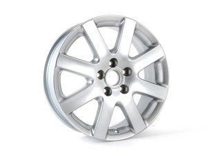 """ES#343394 - 3C0601025M8Z8 - 17"""" Chamonix - Priced Each  - 17""""x6"""" ET45 5x112 - Diamond Silver - Genuine Volkswagen Audi - Volkswagen"""