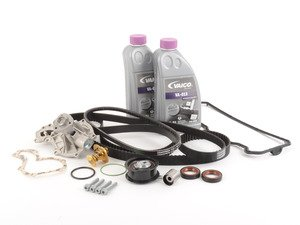 ES#6390 - 028198479lv - ECS Tuning Timing Belt Kit - Ultimate - 19 piece complete timing belt kit for the ultimate in preventative maintenance. - Assembled By ECS - Volkswagen