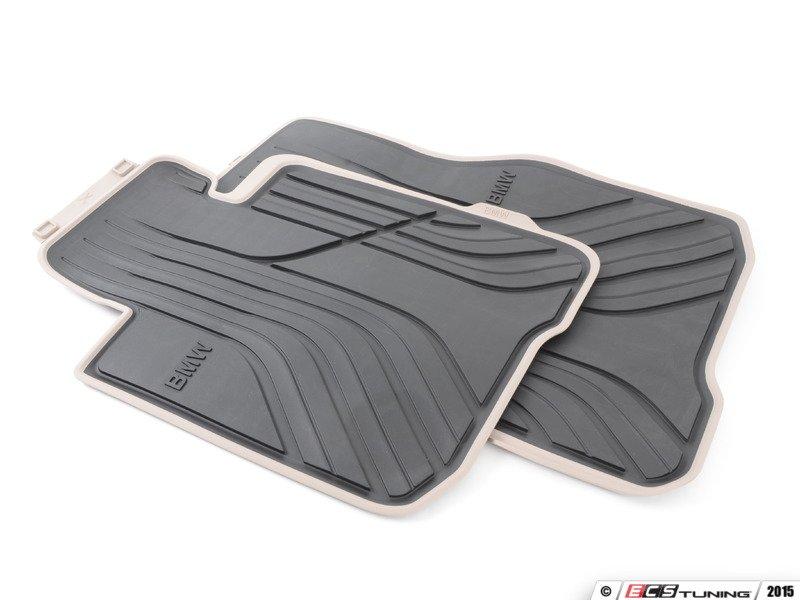 Genuine Bmw 51472348157 Modern Line Rubber Floor Mat