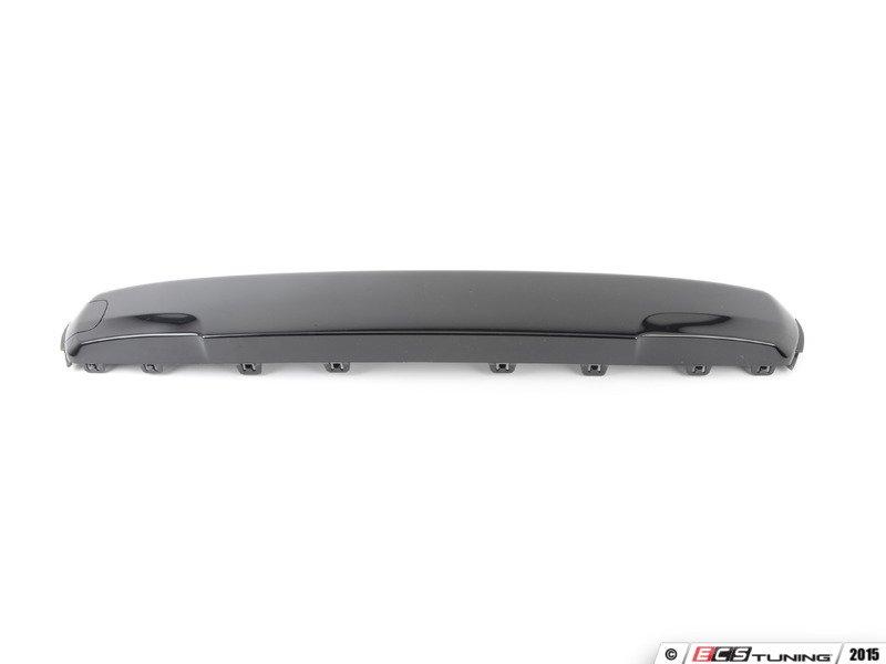 Genuine Mini 51117337791 Front Bumper Cover Black