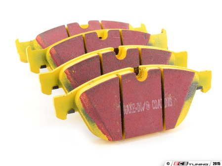 ES#2621762 - DP42087R - Front YellowStuff Performance Brake Pad Set - A race quailty pad that can be used at the track and back home, includes wear sensors - EBC - Audi