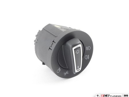 ES#2855250 - 5gm941431c - Standard European Headlight Switch - Chrome Trim - Adds parking lights with front fogs as well as rear fog option - Bremmen Parts - Volkswagen