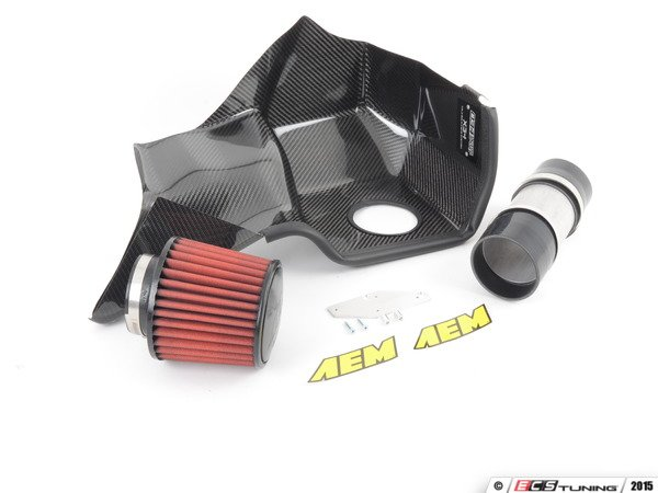 ES#2864558 - 034-108-1002-CF - X34 Cold Air Intake - Carbon Fiber - The ultimate cold air induction system the for powerful 2.7T! - 034Motorsport - Audi