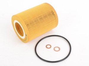 ES#2873754 - 11427512300 - Oil Filter Kit - Includes filter, O-ring, and copper washer. - Febi - BMW
