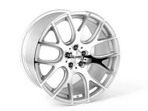 "ES#3143307 - 040-16KT - 18"" Style 040 Wheels - Square Set Of Four - 18x9"" ET42 72.6CB 5x120. Silver With Machined Face - Alzor - BMW"