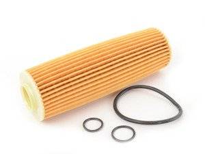 ES#2730874 - 2711800509 - Engine Oil Filter - Priced Each - Includes all o-rings needed for installation - Mahle - Mercedes Benz