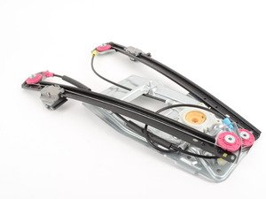 ES#2804373 - 51338252393 - Premium Front Window Regulator - Left - Does not include a window motor - URO Premium - BMW
