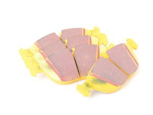 ES#517872 - DP41035R -  YellowStuff Performance Brake Pad Set - A race quailty pad that can be used at the track, and then get you back home again. - EBC - Audi BMW Volkswagen Mercedes Benz