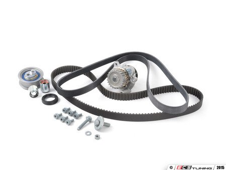 ES#1876844 - 06F198001b7 - Timing Belt Kit - Ultimate - Includes all hardware and engine seals - Assembled By ECS - Audi