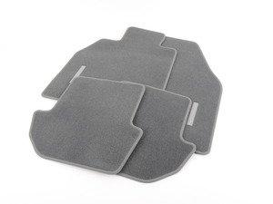ES#1497182 - 99704480001B10 - Set Of Floor Mats - Stone Grey  - Beautiful OEM Stone Grey floor mat set - Genuine Porsche - Porsche