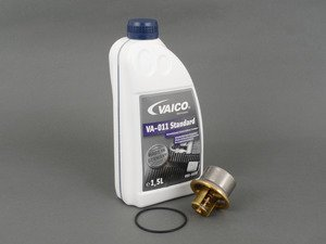ES#2984802 - 11531318274KT - Thermostat Replacement Kit - Includes thermostat, o-ring, and coolant - Assembled By ECS - BMW