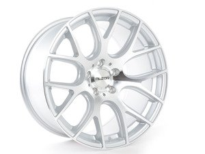 "ES#2801261 - 040-9KT - 18"" Style 040 Wheels - Square Set Of Four - 18""x10"" ET40 57.1CB 5x112 Hyper Silver with machined face - Alzor - Audi Volkswagen"