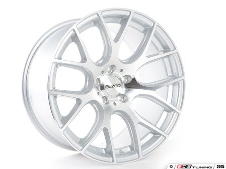 """ES#2801261 - 040-9KT - 18"""" Style 040 Wheels - Square Set Of Four - 18""""x10"""" ET40 57.1CB 5x112 Hyper Silver with machined face - Alzor - Audi Volkswagen"""