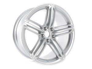 "ES#2600673 - 8T0601025CB - 19"" Triple Split 5-Spoke Wheel - Priced Each - 19""x9"" ET33 5x112 Silver - Genuine Volkswagen Audi - Audi"