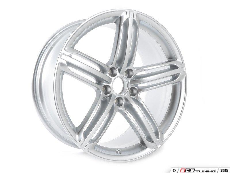 Genuine Volkswagen Audi 8t0601025cb 19 Quot Triple Split 5 Spoke Wheel Priced Each 8t0 601