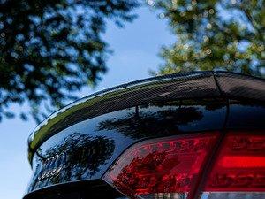 ES#3071996 - 009791ECS01KT - 3-Piece Carbon Fiber Trunk Spoiler - Add a touch of class and style with a new carbon fiber spoiler - ECS - Audi