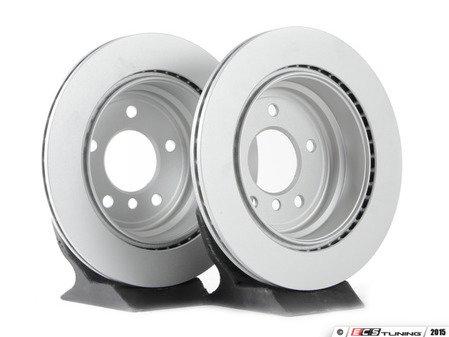 ES#2862384 - 34216864901ateKT - Rear Brake Rotor - Pair (300x20) - Restore your stopping power - ATE - BMW
