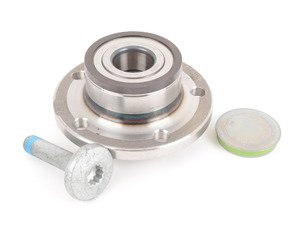 ES#2976456 - 3G0598611A - Rear Wheel Bearing Assembly With Hub - Priced Each - Allows your wheel to rotate with minimal friction - Genuine Volkswagen Audi - Audi Volkswagen