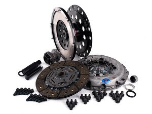 ES#2826503 - 003886ECS01AKT3 - Performance Lightweight Flywheel clutch Kit - Stage 2 Daily - ECS Lightweight Flywheel with a Southbend Stage 2 clutch kit rated at 395ft/lbs - ECS - Audi