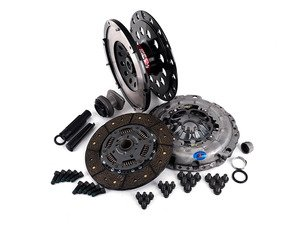 ES#2826504 - 003886ECS01AKT4 - Performance Lightweight Flywheel Clutch Kit - Stage 2 Endurance - ECS Lightweight Flywheel with a Southbend Stage 2 clutch kit rated at 430ft/lbs - ECS - Audi
