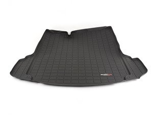 ES#2837382 - 40474 - Rear Cargo Liner - Black - The best protection for your trunk in any situation - WeatherTech - Volkswagen