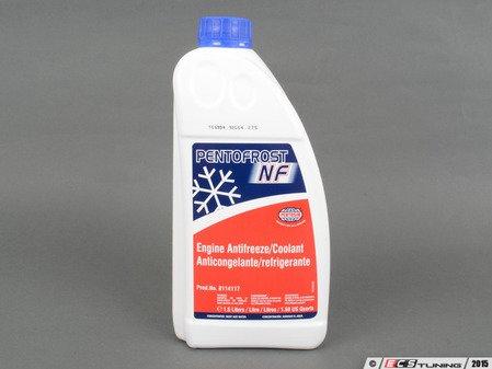 ES#1912 - AF G001100 - G11 Coolant - 1.5 Liter - Blue Pentofrost Antifreeze coolant in color - Pentosin - Audi Volkswagen MINI