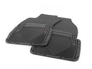 ES#2984766 - w67bKT - All-Weather Floor Mats - Black - All-weather protection to endure the harshest conditions - WeatherTech - Audi
