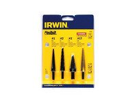 ES#2951008 - VSG10228 - 4 Pc. Unibit Set  - These drill bits are great for drilling holes smoothly. - Irwin Vise-Grip - Audi BMW Volkswagen Mercedes Benz MINI Porsche