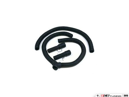 ES#2939831 - CRUDSS25 - Dual Exhaust Hose Service Kit - Allows you to work on your dual exhaust vehicle inside the garage with the vehicle running and the door closed! - Crushproof - Audi BMW Volkswagen Mercedes Benz MINI Porsche