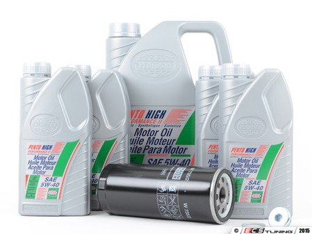 ES#2738291 - 077115561GKT3 - Oil Service Kit - Everything you need to perform an engine oil service - Assembled By ECS - Audi