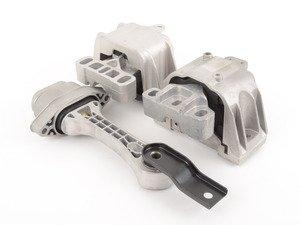 ES#2960453 - 0345095005SD - Street Density Line Motor Mount Kit - Includes engine and transmission mount with 50 durometer rubber - 034Motorsport - Audi Volkswagen