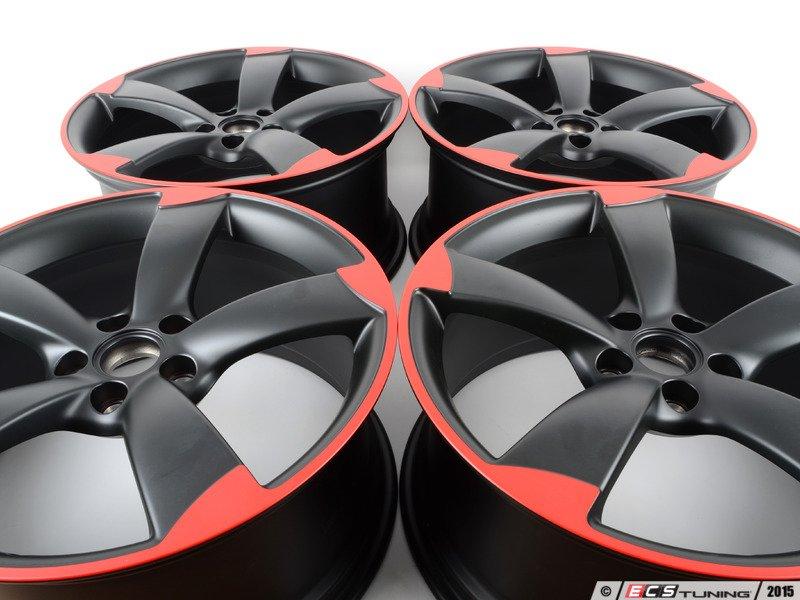Genuine Volkswagen Audi 8j0601025dckt 19 Quot 5 Spoke Rotor Wheels Set Of Four 8j0 601 025