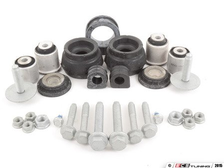 ES#2710703 - 8N0407181B - Front Suspension Refresh Kit -Stage 1 - All of the common bushings in the front suspension that wear out over time, along with all of the necessary hardware - Assembled By ECS - Volkswagen