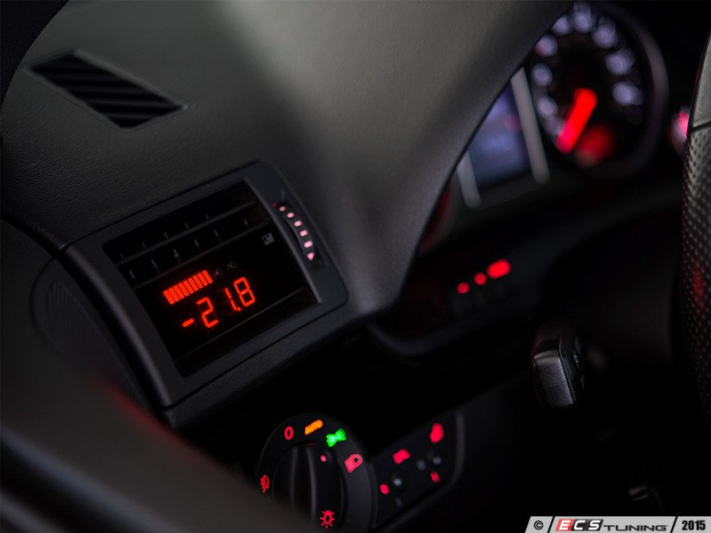 ECS News - P3 Gauges Boost Gauges for your Audi B6 A4 1 8T