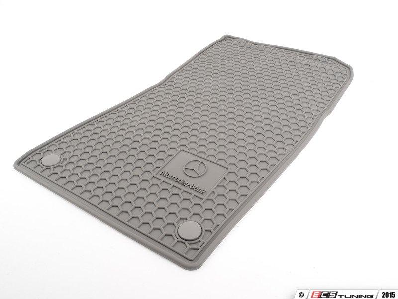 Genuine mercedes benz q6680685 rubber floor mats set for Genuine mercedes benz floor mats