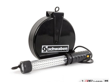 ES#2808522 - 010641SCH01A - Schwaben 60 LED Reel Drop Light - (NO LONGER AVAILABLE) - You can always find your drop light if it is attached to wall or ceiling - Schwaben -