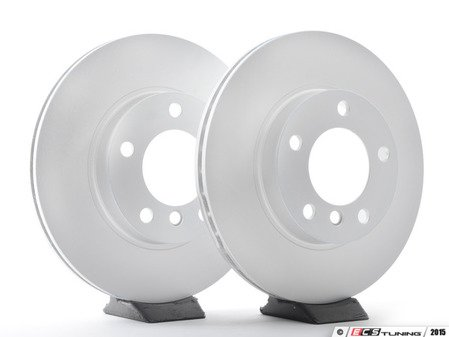 ES#2873029 - 34116864060ateKT - Front Brake Rotors - Pair (286x22) - Stop pedal pulsation by replacing warped and worn rotors today - ATE - BMW