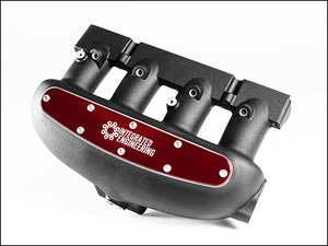 ES#2834697 - IEIMVC1-r - Intake Manifold - Red Velocity Stack Cover - (NO LONGER AVAILABLE) - Does not include installation hardware - Integrated Engineering - Audi Volkswagen