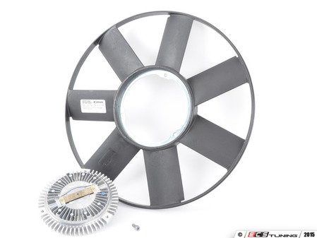 ES#2966602 - 11522243303KT - European Fan kit - Replace your fan and fan clutch at the same time as upgrading to a more durable Euro fan. - Assembled By ECS - BMW
